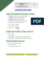 GUIA EXCEL 2007 - Combinaciones de Tecla