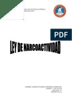 Ley de Narcoactividad