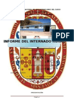 Informe Internado Rural