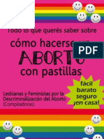 MAnual Aborto Con Misoprostol