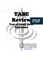Tabe Review
