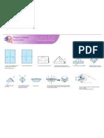 Origami Snapper Print