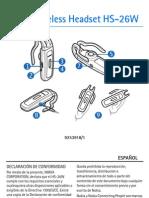 Manual Auricular Nokia