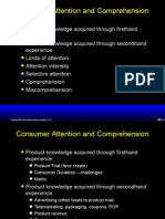Consumer Attention