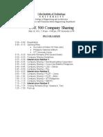 OJT Company Sharing Programme