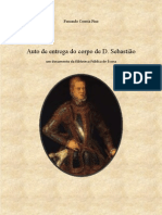 Auto de entrega do corpo de D. Sebastião
