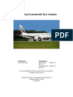 Purchasing Economically Best Airplane