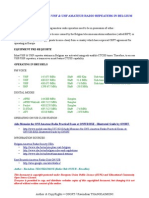 Operating Guide for Brussels Amateur Radio VHF UHF Repeater Stations - Compiled by ON3RT