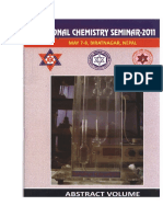 Abstract Book _Regional Chemistry Seminar_2011