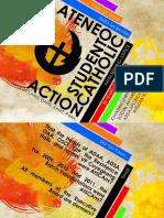 PlanSem Presentation (Ateneo Student Catholic Action)