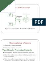 Dig Model of Speech