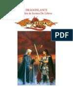 Dragon Lance Orden de Lectura de Libros