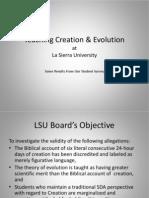 LSU Biology Survey Findings