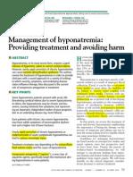 Cleveland Clinic Journal of Medicine 2010 VAIDYA 715 26