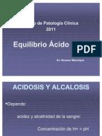 Acidosis y Alcalosis