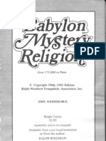 Babylon Mystery Religion (Ralph Woodrow, 1966)