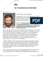 Fritz Springmeier Transferred to Sheridan Prison_ 2011