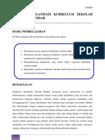 Topik 4 Organisasi Kurikulum Sekolah Rendah