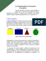 Conceptos Fundamentales de Geometria
