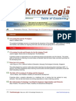 Techknowlogia Journal 2001 May June