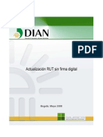 Actualizacion RUT Sin Firma Digital