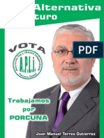 Programa Electoral APLI elecciones municipales Porcuna 2011