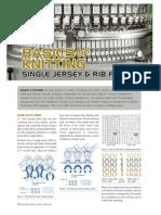Single Jersey and Rib Fabric