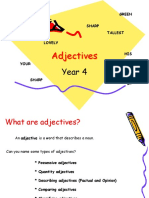 Year 4 -Adjectives
