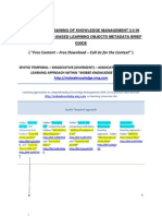 WEB-BASED BASIC PRIMER TRAINING OF KNOWLEDGE MANAGEMENT 2.0 IN PRACTICE