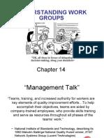 Understanding Work Groups - Chapter 14