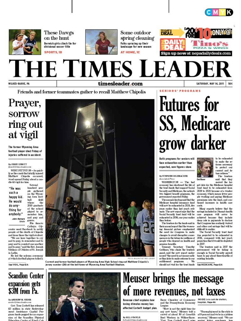 Times leader 05 14 2011 medicare united states prosecution fandeluxe Gallery
