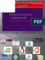 A Look at Linux Based Operating Systems