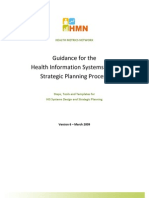 Guidance for the HIS Strategic Planning Process
