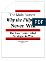 eBook - The Main Reason Why Filipions Never Win