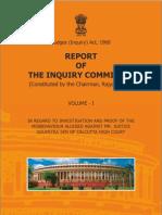 Judges Enqury report