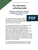 Vibrational Manifesting Guide n