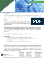 Customer Management Solution LS Case Study