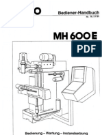 MAHO Bedienerhandbuch