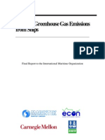 IMO Greenhouse Gases Reduction