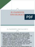 Il Paziente Con Patologia Oncologica