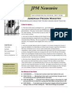 JPM May 2011 Newsletter