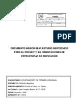 Geotecnico Polideportivo de Panes Ayto