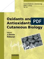 Oxidants and Antioxidants in Cutaneous Biology (Current Problems in Dermatology) by Jens Thiele
