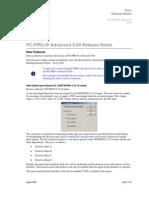 PC PRO+Advanced960ReleaseNotes
