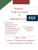 Rapport Code Convolutif & Egalisation Aveugle