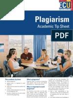 7. Plagiarism Academic Tip Sheet