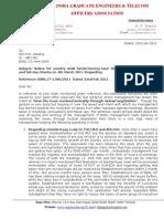 317_Regarding_Agitation Reply to GM SR Letter