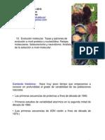 10.EvolucionMolecular2010