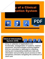 Lesson 8 - Utility of a Clinical Information System