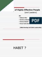 Habits Presentation